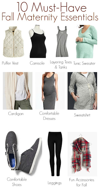 Must Have Fall Maternity Essentials || The Chirping Moms