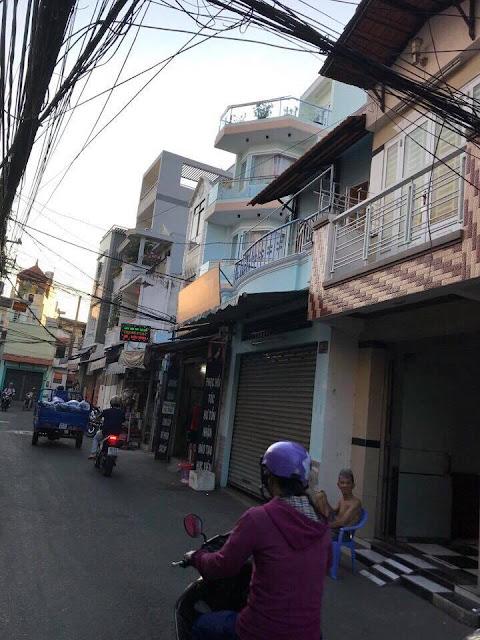 Bán nhà mặt tiền đường Võ Văn Dũng phường Phú Thạnh quận Tân Phú giá rẻ