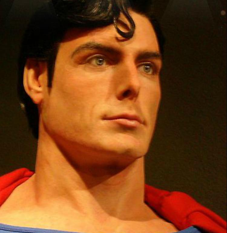 L'artista della cera Bobby Causey - Superman Christopher Reeve
