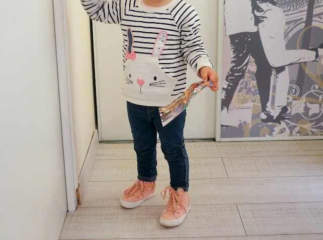 Look mode enfant Primark sweat jean converse