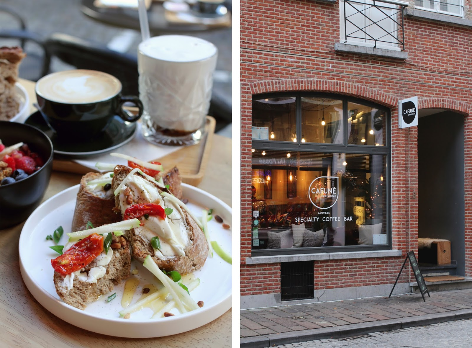 5 favorite coffee spots in Bruges: Margritt + Cafuné