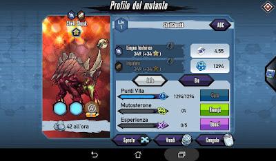 Mutants: Genetic Gladiators Breeding video N°206 (Shell Shock - Alien)