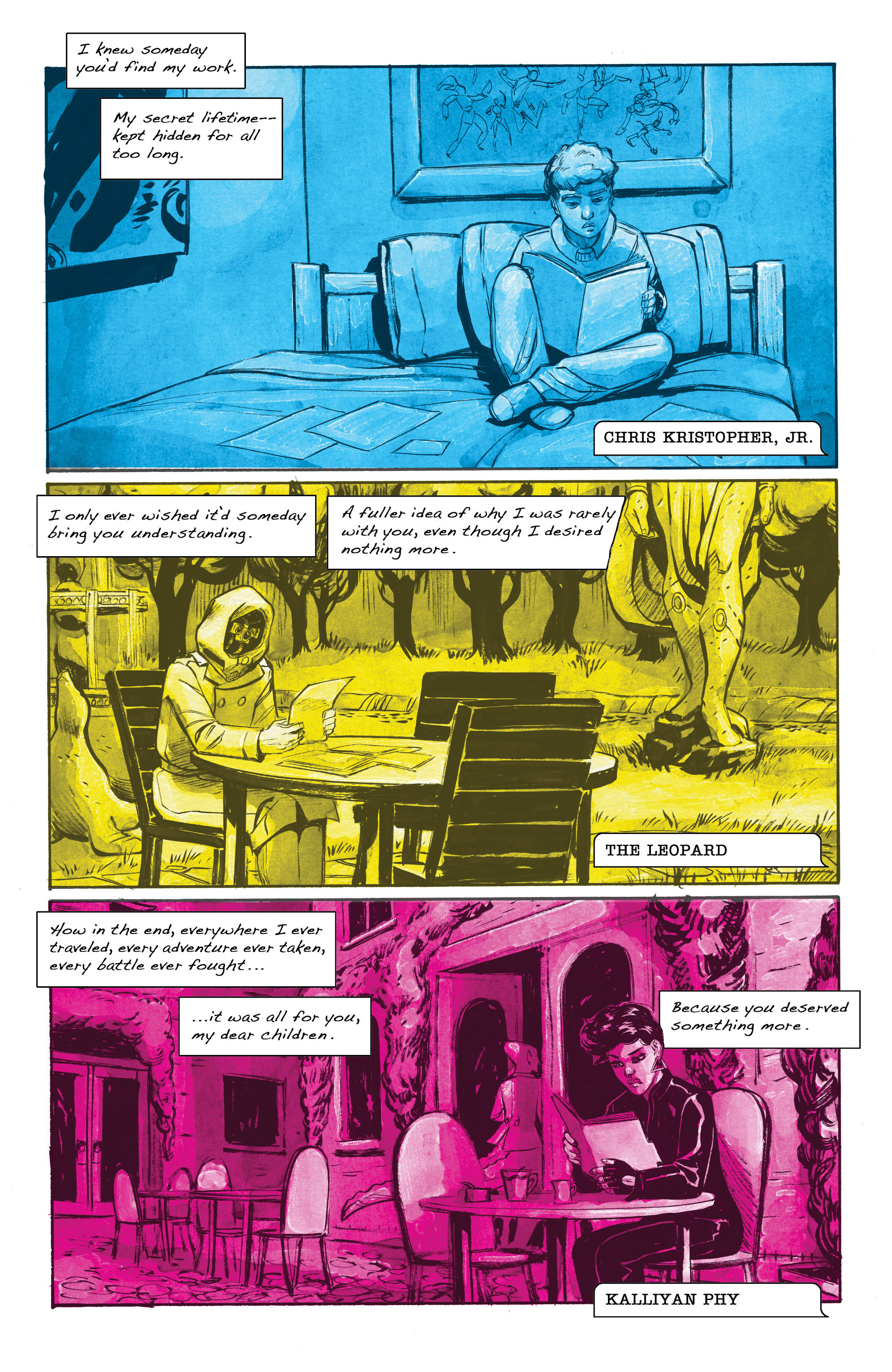 Read online Shutter comic -  Issue #19 - 3