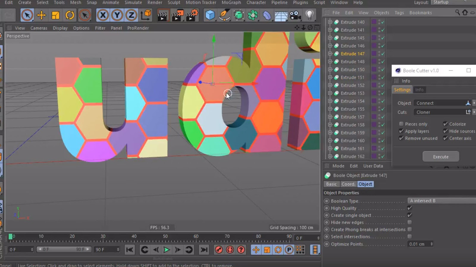 Download Boole Cutter for Cinema 4D by Mike Udin - Plugins