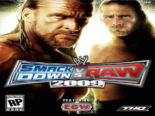 WWE SmackDown Vs Raw 2009 Game Free Download