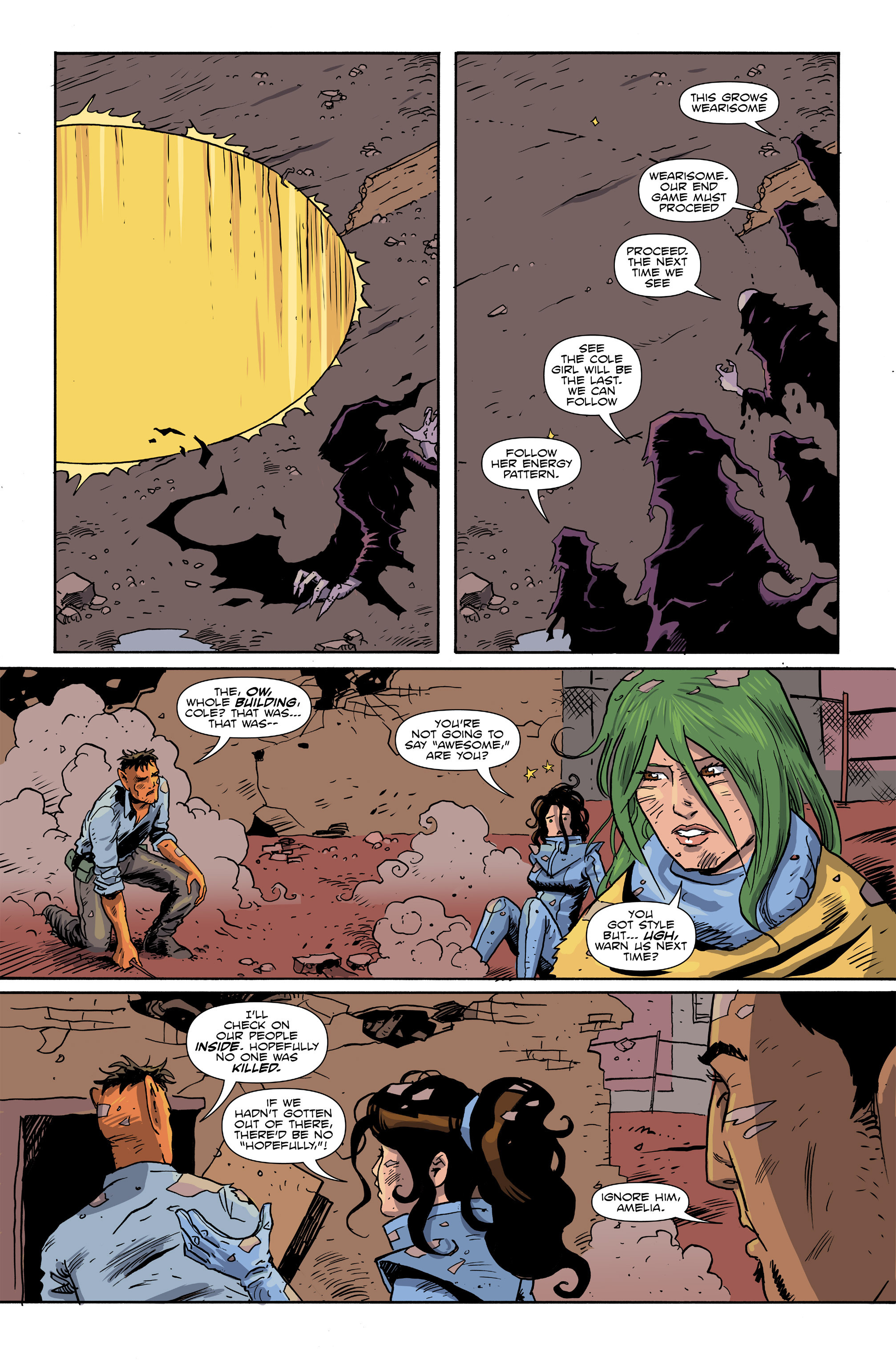 Read online Amelia Cole Versus The End of Everything comic -  Issue #26 - 13