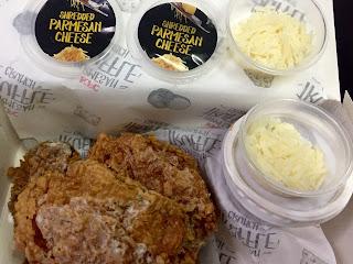 Parmesan Truffle Crunch 3-Pcs Combo @ KFC, KFC Parmesan Truffle Crunch, Parmesan Truffle Crunch, KFC, KFC Malaysia, Menu KFC, Menu baru KFC, Menu KFC Parmesan