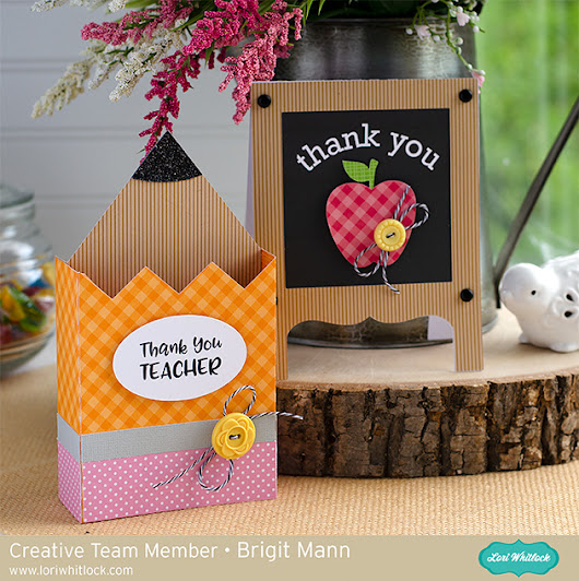 Teacher Thank You Cards - Lori Whitlock Creative Team Project