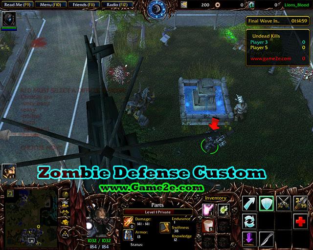 Zombie Defense Custom v8.6 Final