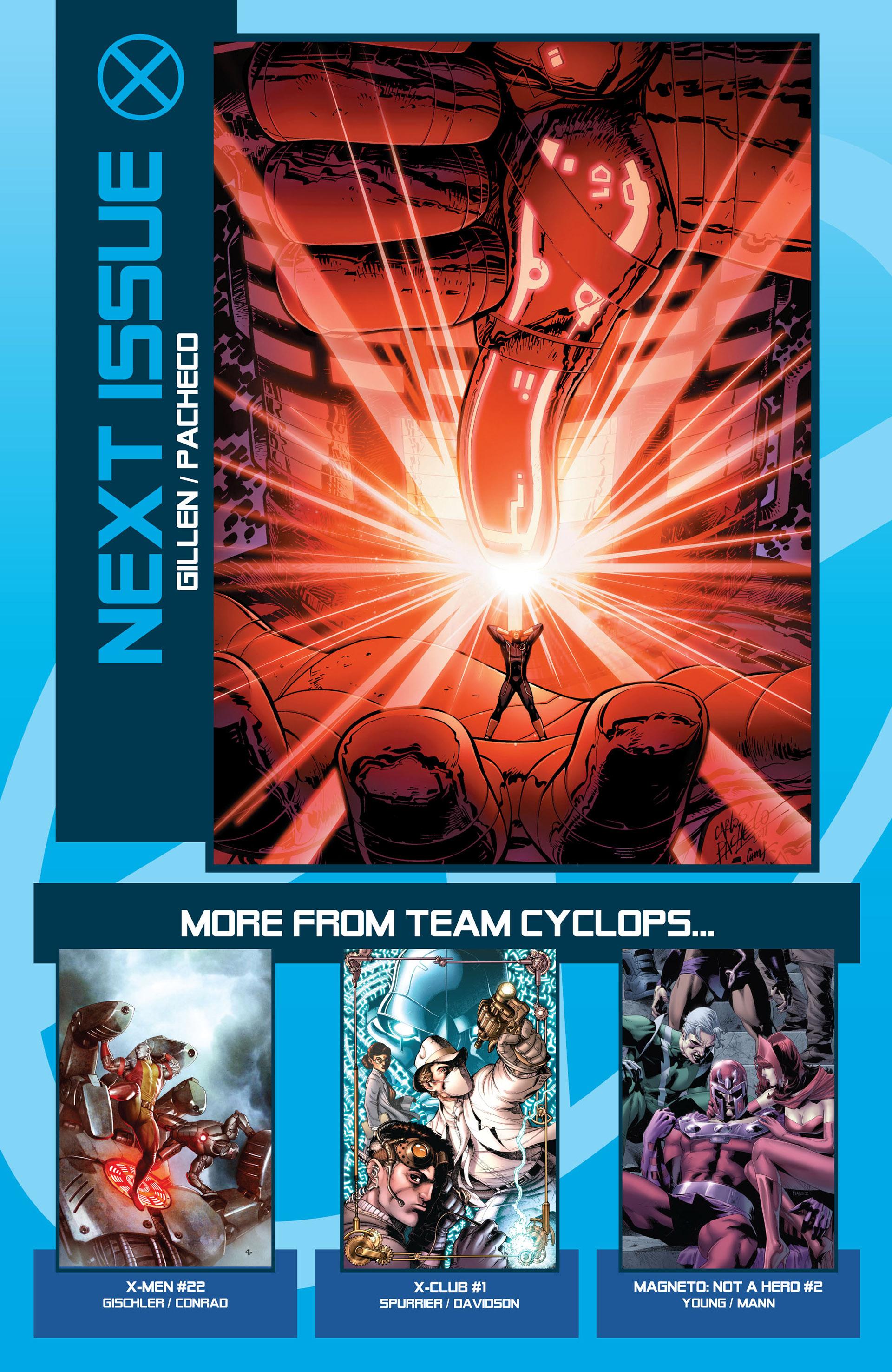 Read online Uncanny X-Men (2012) comic -  Issue #2 - 22