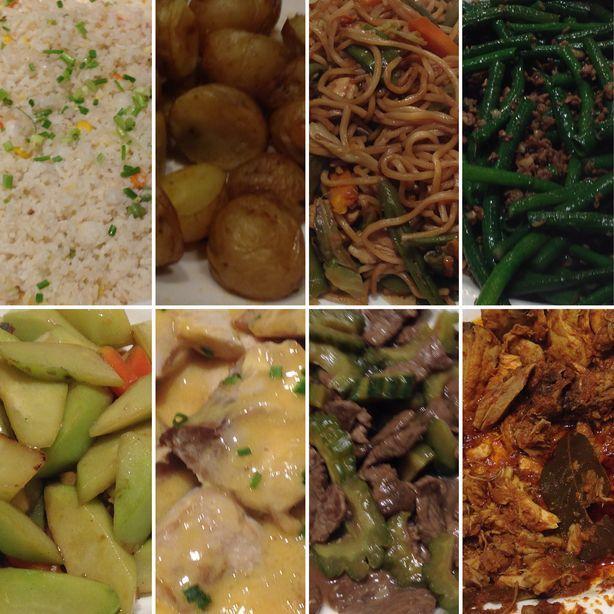 Food at Flavors Restaurant in Holiday Inn Makati