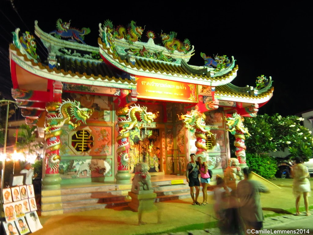 Chinese Temple, Maenam