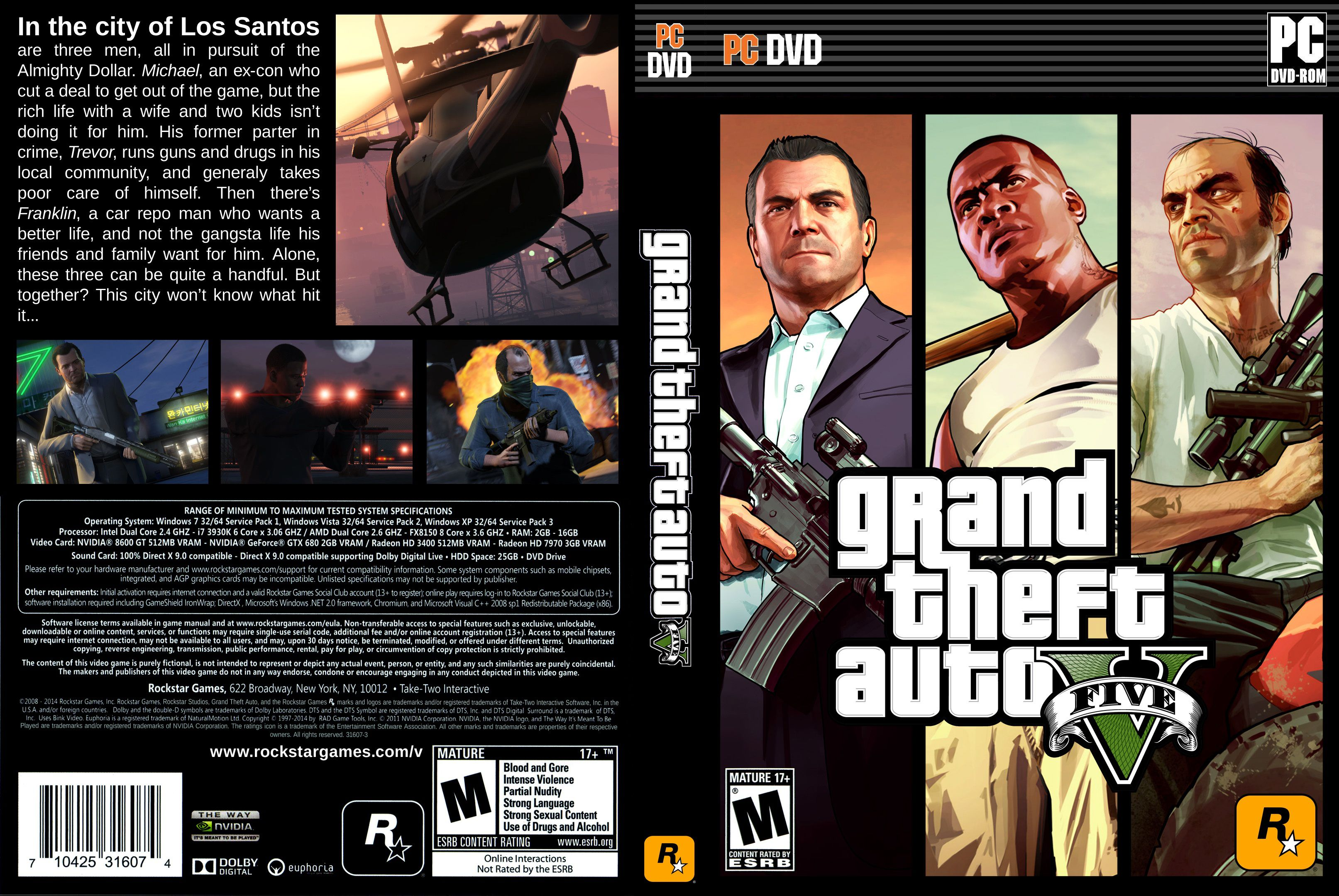 Grand theft auto v: the manual download.