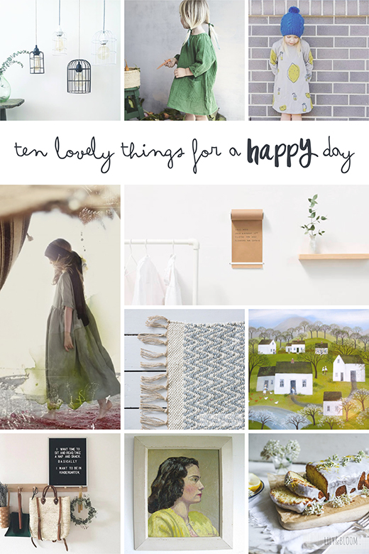 ten lovely things that caught my eye this week