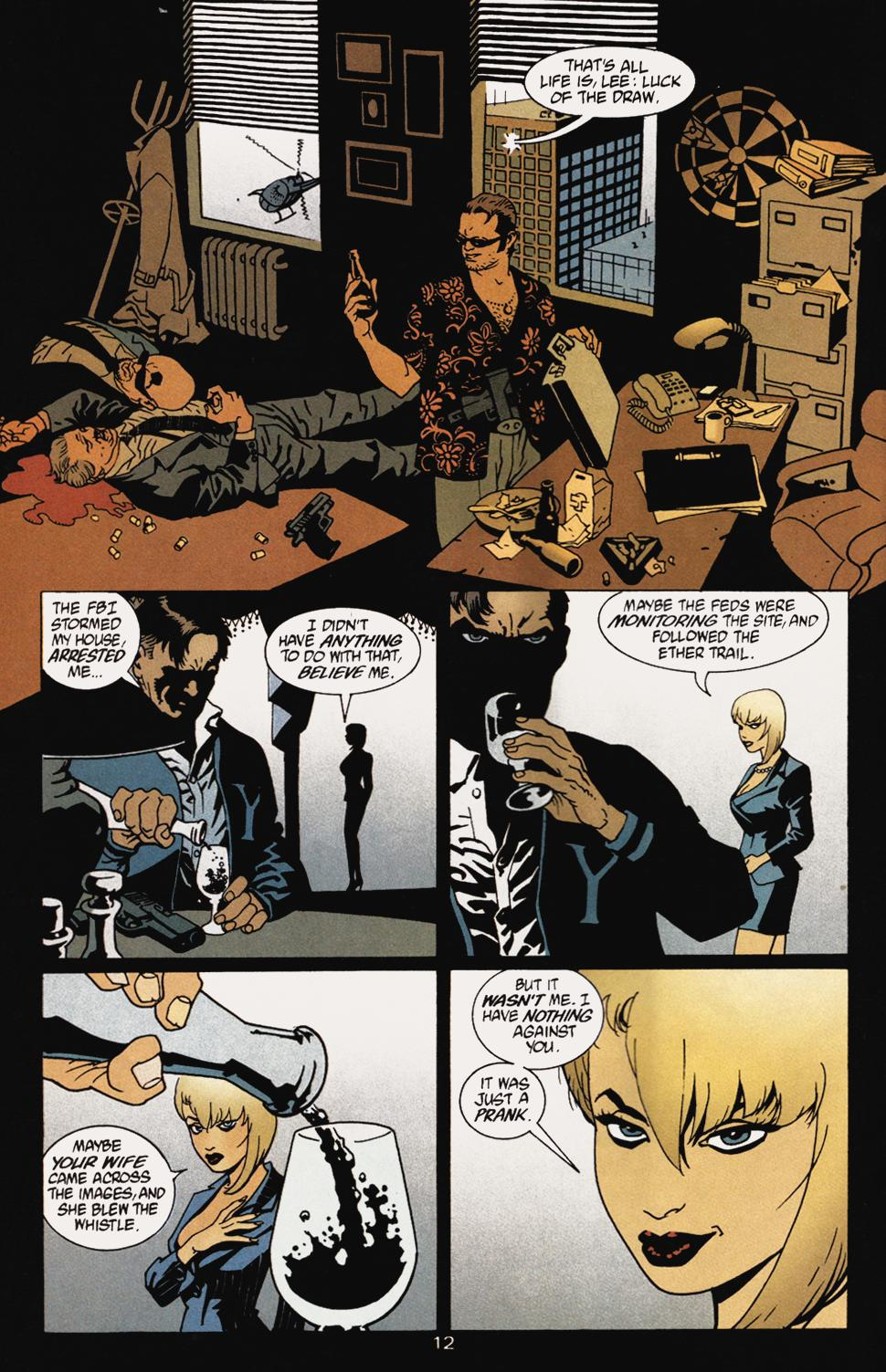 Read online 100 Bullets comic -  Issue #5 - 14