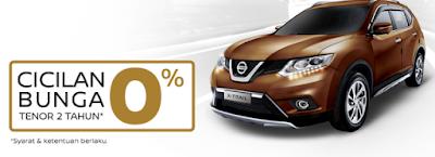 Promo Nissan Akhir Tahun Cicilan Bunga 0%
