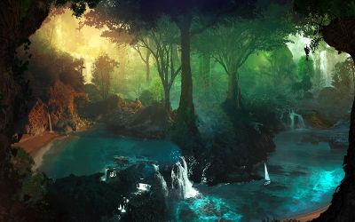 Rêve de Forêt - Fond d'Écran en Quad HD 1440p