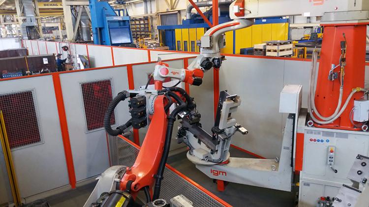 Автоматизация металлообрабатывающего производства