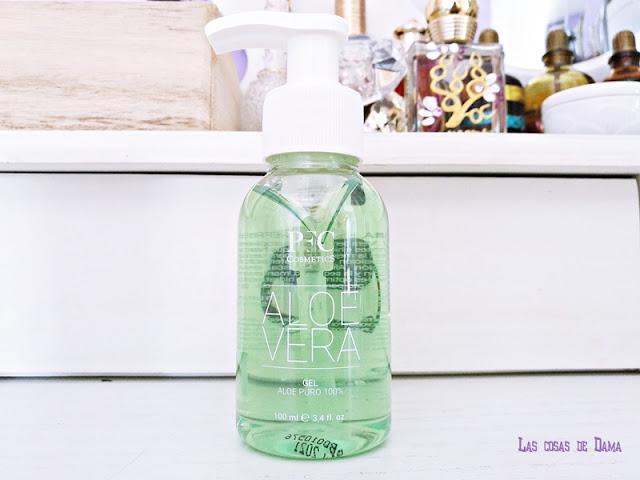 Gel Aloe Vera de PFC Cosmetics Guapabox Beautybox belleza skincare