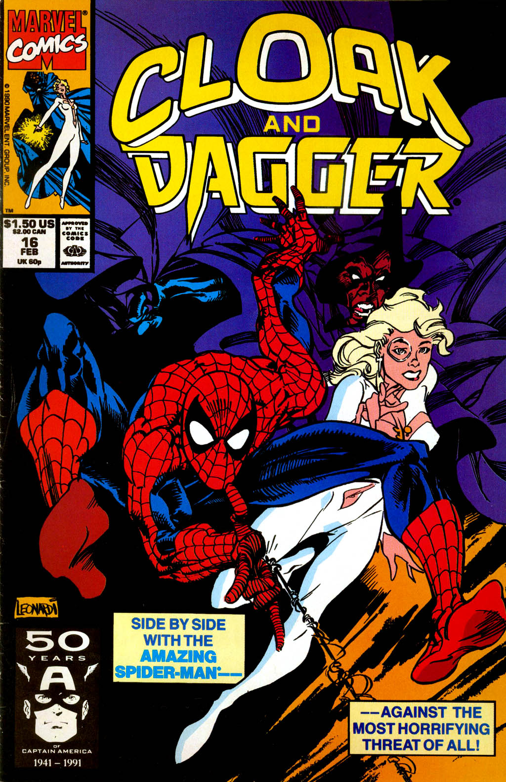 Cloak and Dagger (1990) 16 Page 1