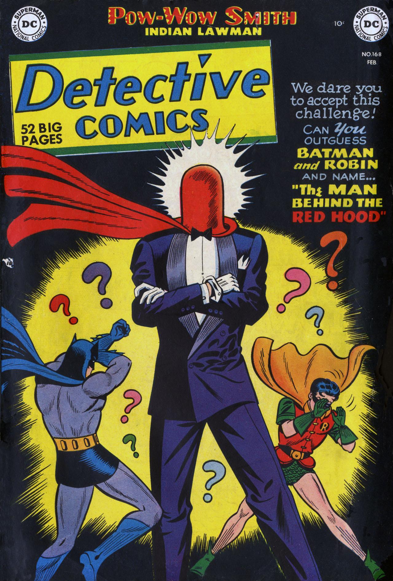 Detective Comics (1937) 168 Page 0