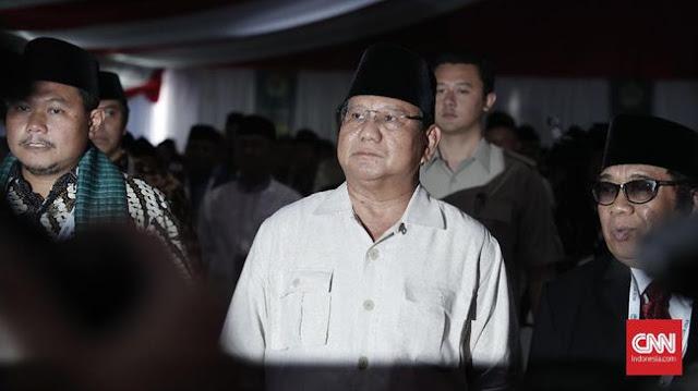 Prabowo Sebut Elite Indonesia Jago Bohong dan Curang