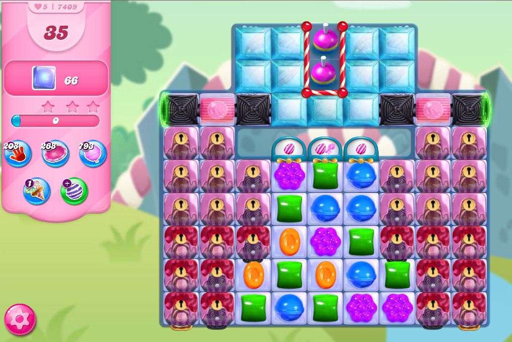 Candy Crush Saga level 7409