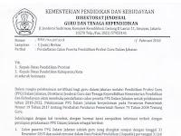 Pendaftaran Calon Peserta PPGJ 2018