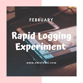 12 Months Bujo challenge February by ewafebri