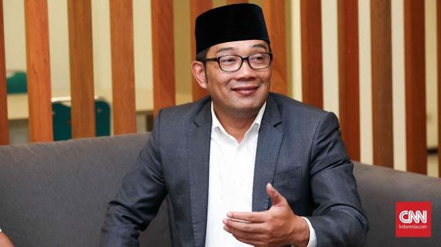 Ridwan Kamil Bantah Pose Satu Jari Terkait Kampanye Pilpres