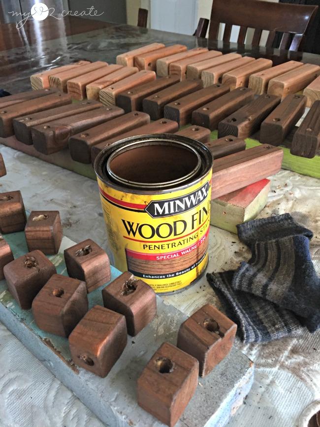 Reversible Wooden Door Mat, MyLove2Create