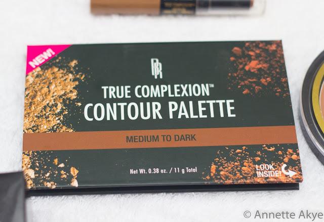 Black Radiance Contour Palette