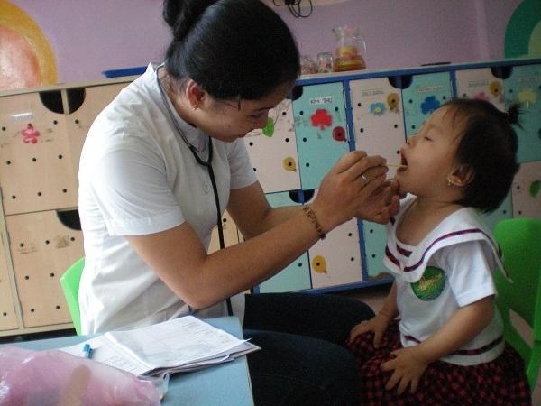 Ứng dụng công nghệ thông tin trong quản lý chăm sóc sức khỏe trẻ suy dinh dưỡng