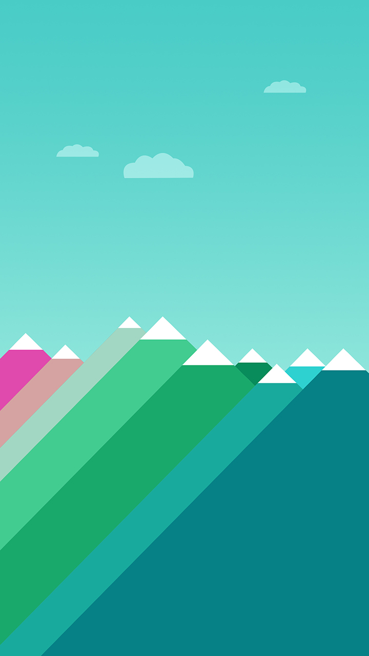 flat design phone wallpaper -#main