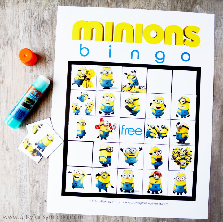 photograph relating to Minions Printable identify No cost Printable Minions Bingo artsy-fartsy mama