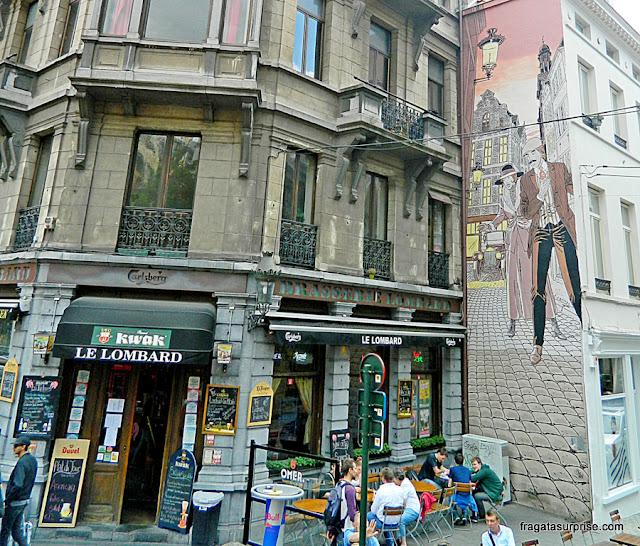 Grafite em Bruxelas