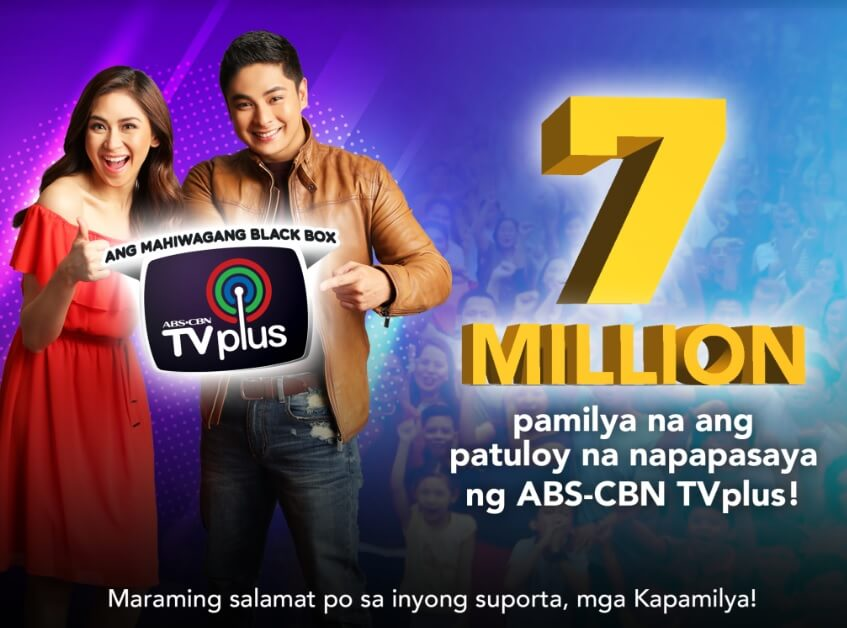 ABS-CBN TVplus Sells 7M Units Since 2015
