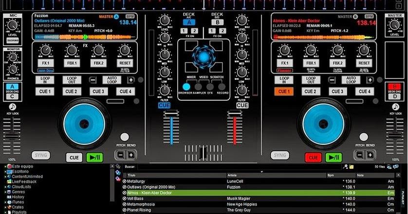 Mcx8000 Virtual Dj