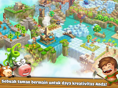 Cube Skyland: Farm Craft MOD APK-Cube Skyland: Farm Craft