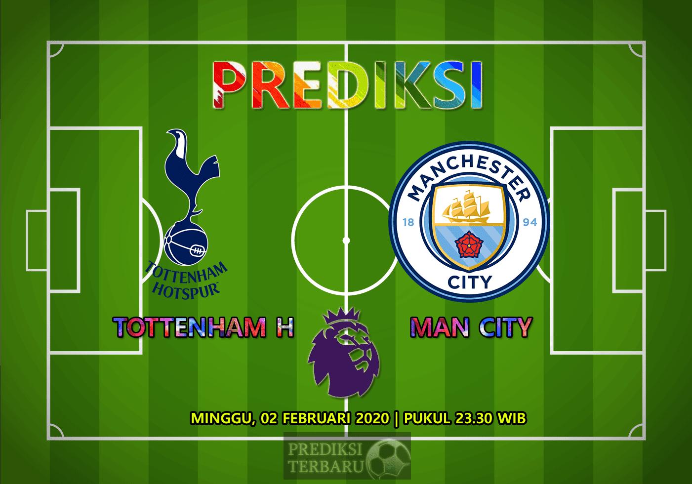 Prediksi Tottenham Hotspur Vs Manchester City 02 Februari