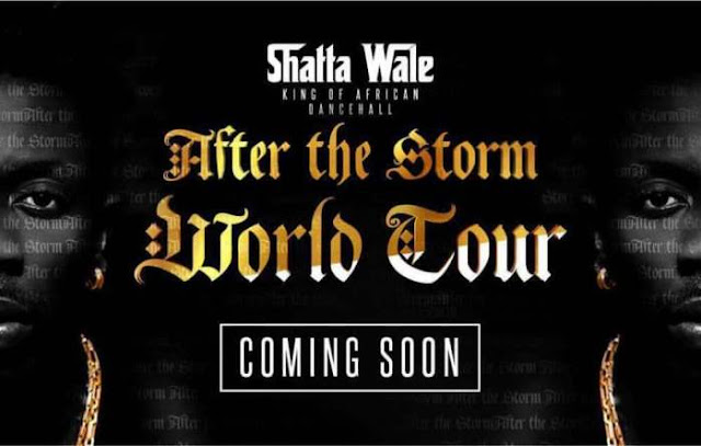 "Shatta Wale Announces Upcoming ""After the Storm"" Tour."