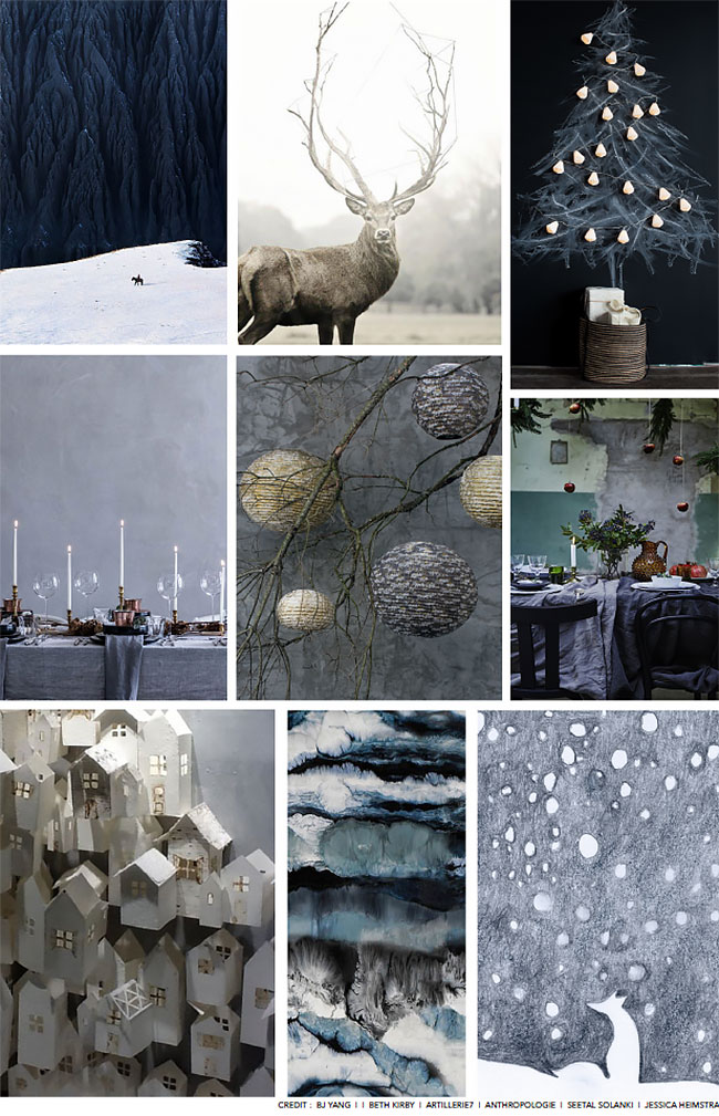 Accent Decor Holiday Mood Board