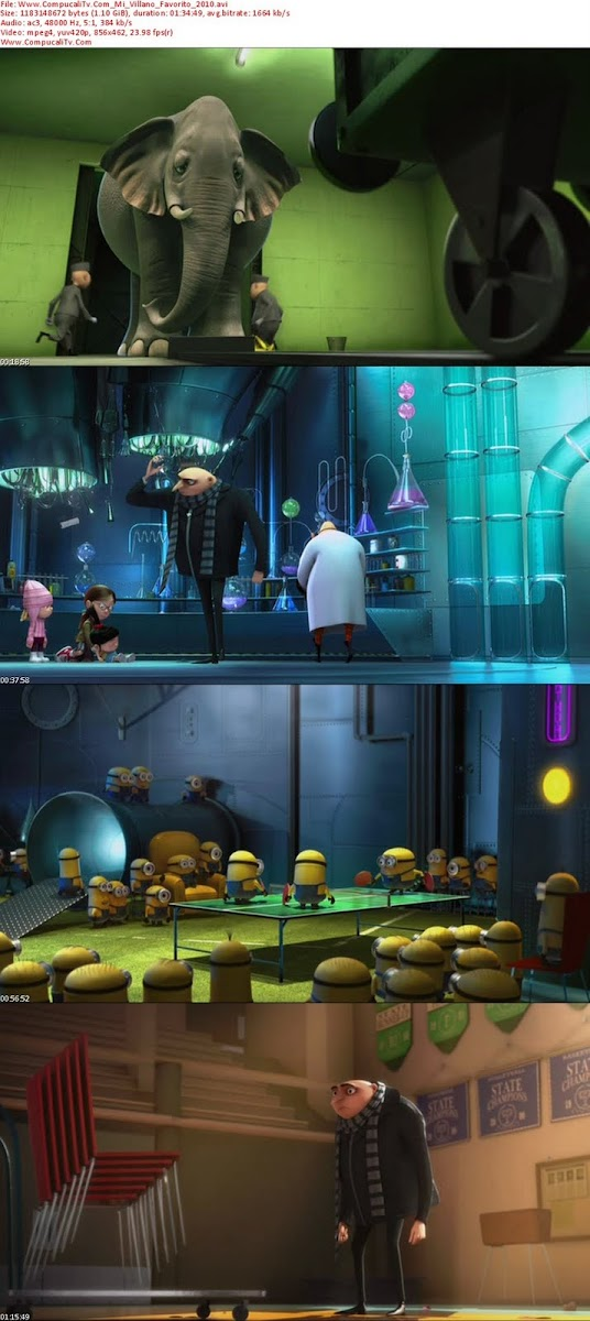 Mi Villano Favorito (2010) [Despicable Me] BRRip 720p Latino