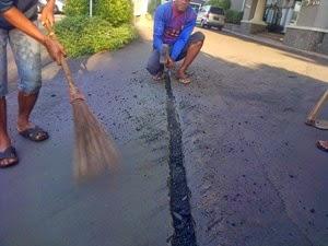 Fungsi Aspal Pada Pembuatan Jalan Raya, Pembuatan Aspal Jalan Raya