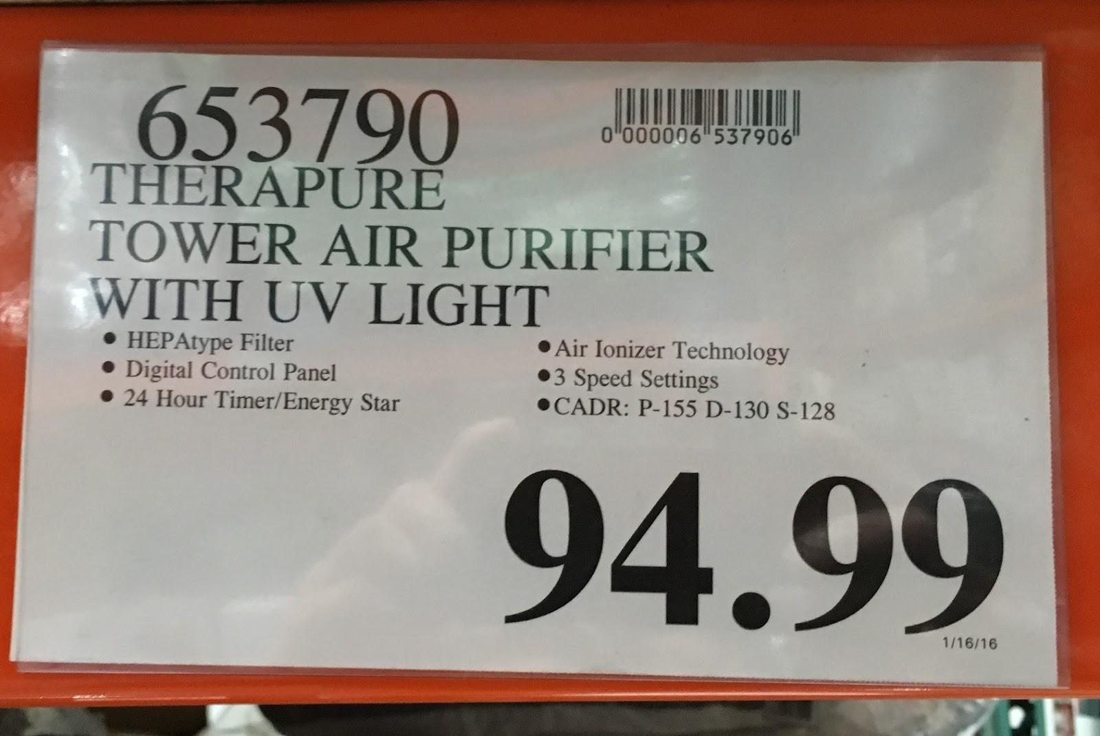 Therapure TPP540 UV Germicidal Air Purifier