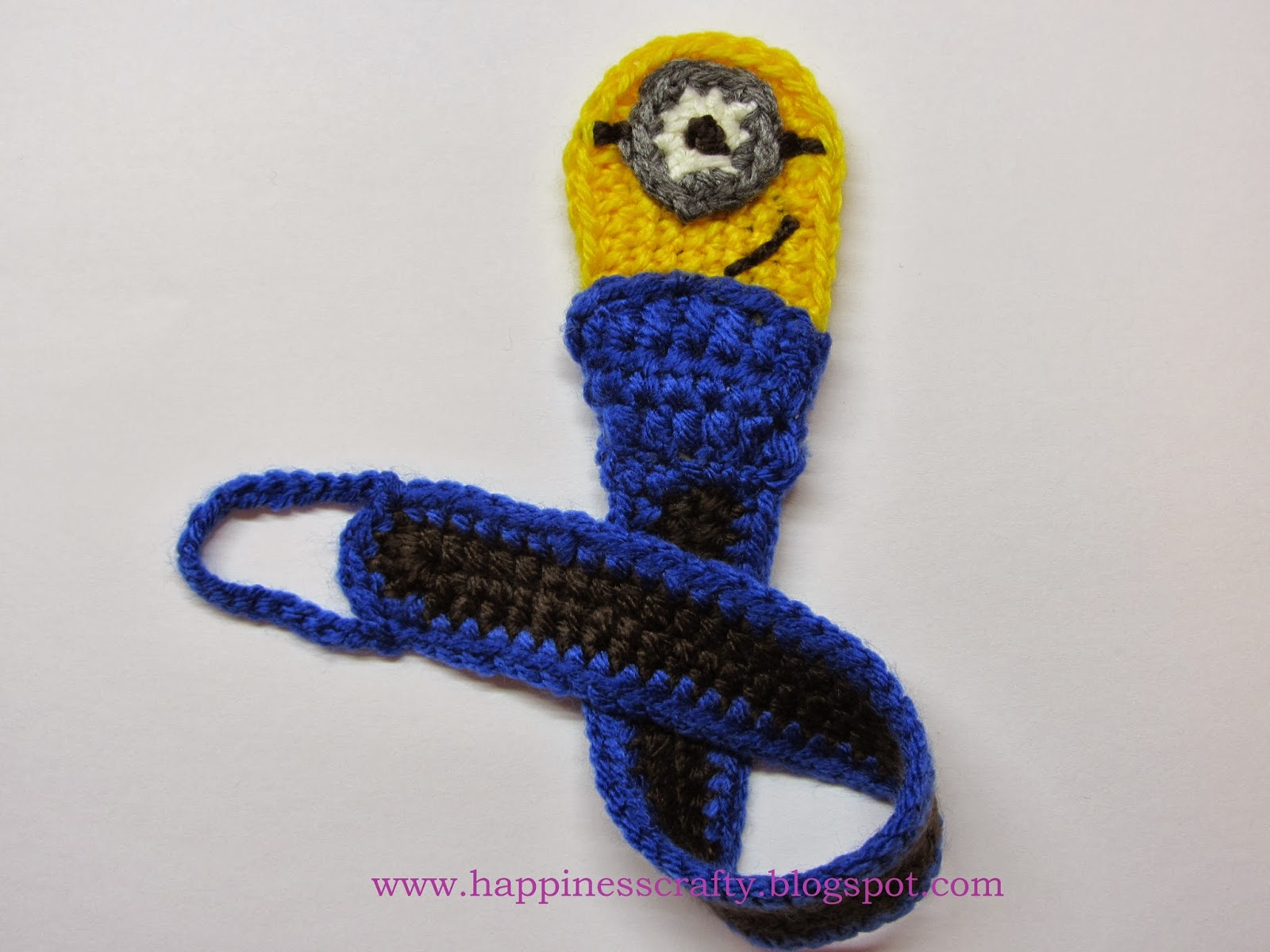 Free Crochet Pattern For Pacifier Holder ~ Dancox for