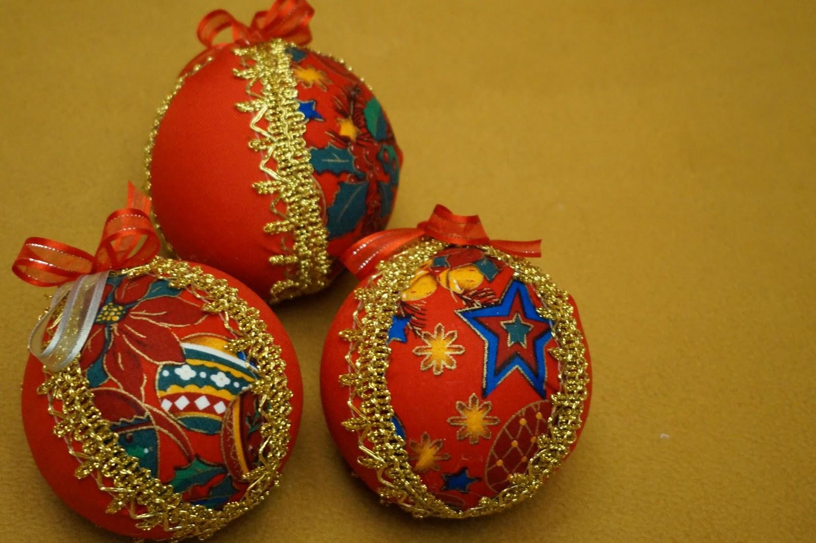 Vanne manualistas tutorial esferas de navidad f cil - Bolas de navidad grandes ...