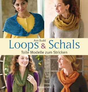 """Rezension des Buches """"Loops & Schals - Tolle Modelle zum Stricken"""" von Ann Budd, erschienen im Bassermann Verlag"""