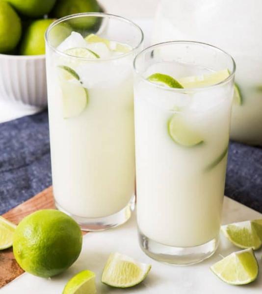 BRAZILIAN LEMONADE #lemonade #drink