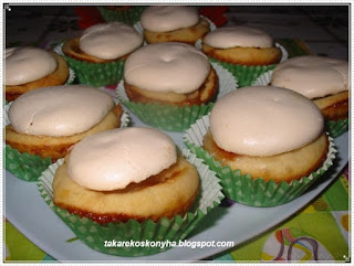 Rákóczi- túrós muffin